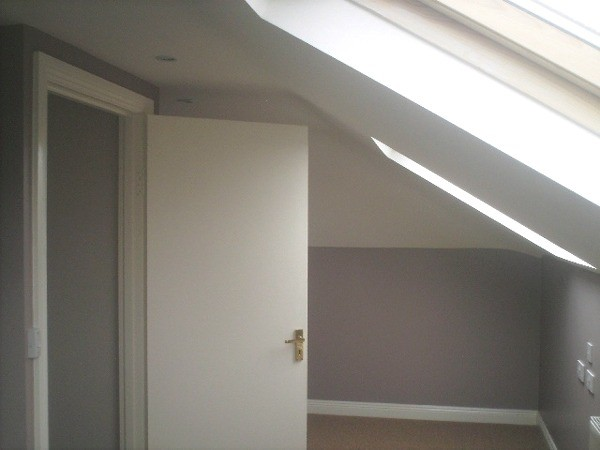 Attic conversion to create study space in Carragh, Naas by Expert Attics, Lucan, Dublin, Ireland.