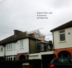 Attic Conversion by Expert Attics, Lucan, Dublin, Ireland. Extensions, Renovations & Carpentry Work,Builder.