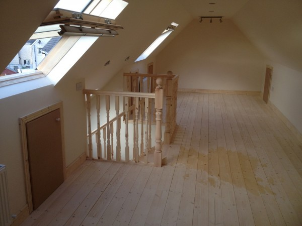 Open plan attic, Dublin by Expert Attics, Ireland