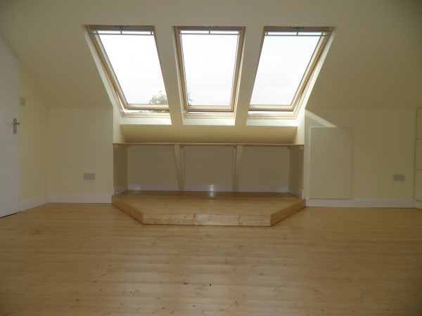 Combination Windows in Attic Conversion in Killiney, South County Dublin, by Expert Attics,Ireland