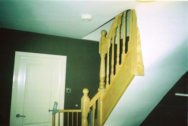 Staircase in Attic conversion in Laraghcon, Lucan by Expert Attics, Lucan, Dublin, Ireland.
